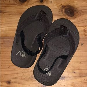 Quicksilver Brown Flip Flops (toddler)